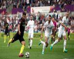 مانشستر سيتي يواصل إنتصاراته بفوز صعب على سوانزي